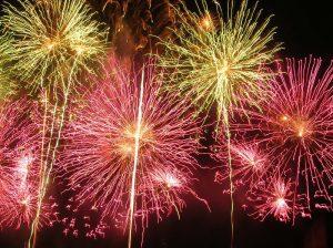 13 Juillet : repas dansant + feux d'artifice