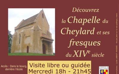 Visite de la Chapelle du Cheylard