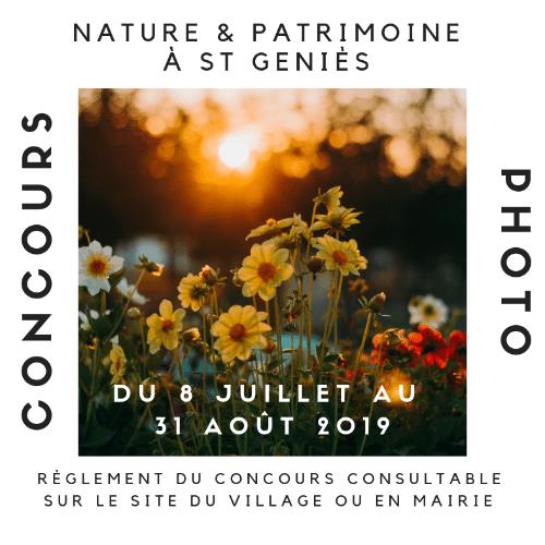 Concours photo nature et patrimoine