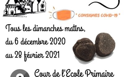 Marché aux truffes 2020/2021